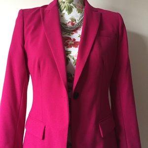 Vince Camuto Pink Blazer Jacket Size 6P